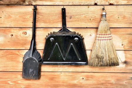 Vintage Dustpan and Brush