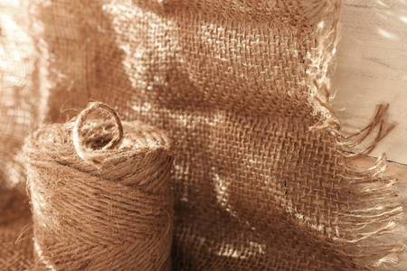 Craft Twine and Burlap Fabric