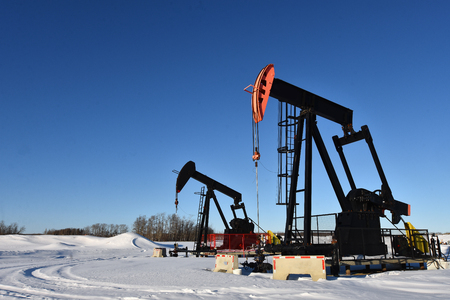 Oil Field Pump Jacks