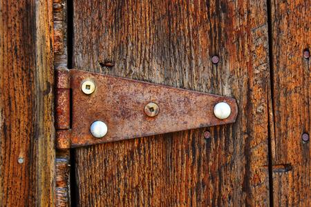 Vintage Door Hinge Reklamní fotografie