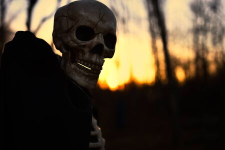 Creepy Halloween Monster Stock fotó