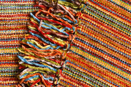 Colorful Blanket Abstract