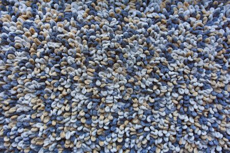 Blue and Brown Carpet Texture Stok Fotoğraf