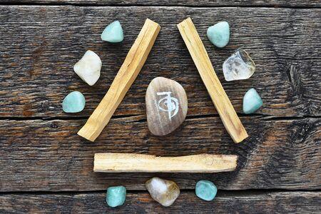 Palo Santo and Healing Crystals