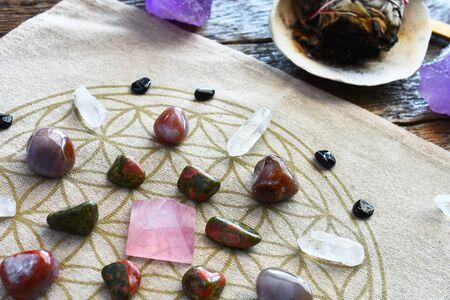 Crystal Energy Healing Grid
