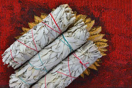 Three White Sage Bundles
