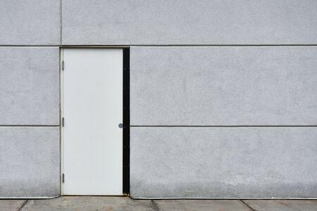 Steel Industrial Exterior Door