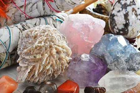 Desert Rose Crystal Close Up
