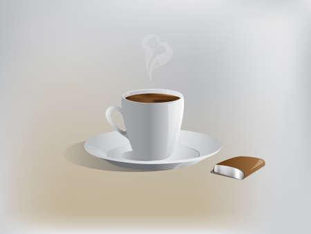 spume: vector realistic coffee - espresso