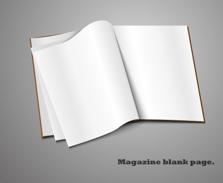 Realistic magazine set number four  Illustration on white background for design  Stock Vector - 14127239