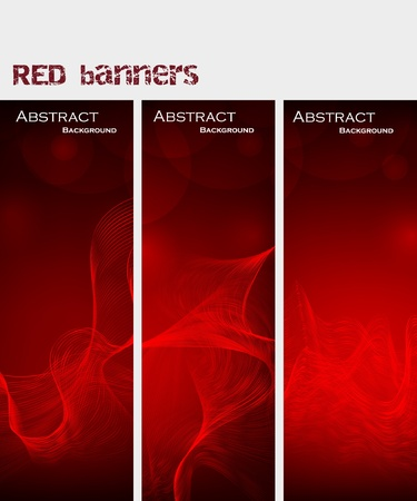red smoke: Abstract background Illustration