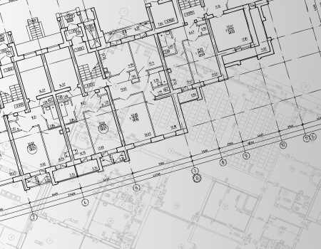architect plans: Architectural background  Part of architectural project, architectural plan, technical project, drawing technical letters, architect at work, Architecture planning on paper, construction plan
