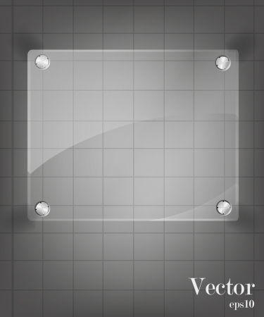 Glass framework set   illustration  Vector