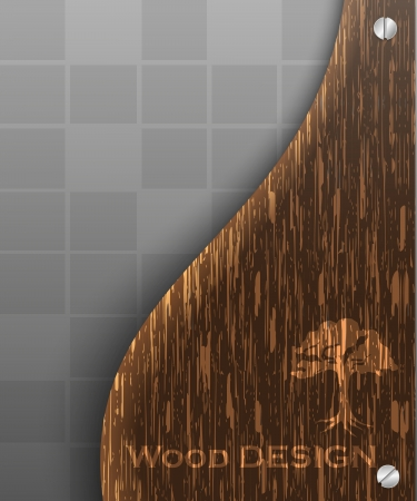 Light wood background pattern texture illustration Stock Vector - 14182187