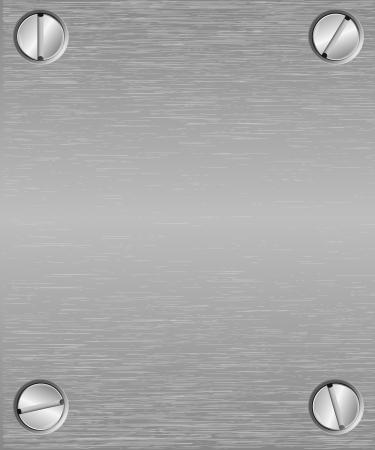 Naadloze metalen textuur achtergrond Vector Illustratie