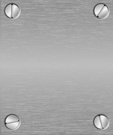 brushed steel: Seamless metal texture background   Illustration