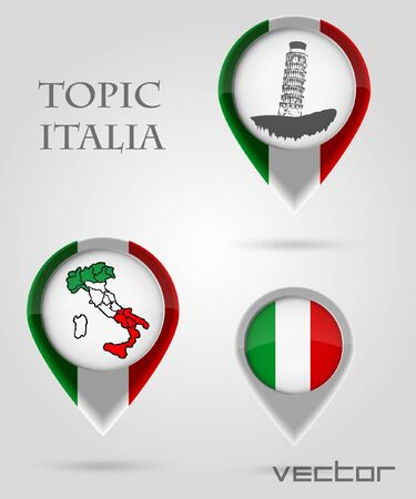 map marker: Topic ITALIA Map Marker