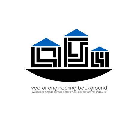 buildings design Stock Vector - 14177337