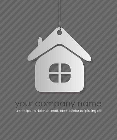 home icon design element Stock Vector - 14177472