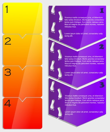 vertical steps Vector