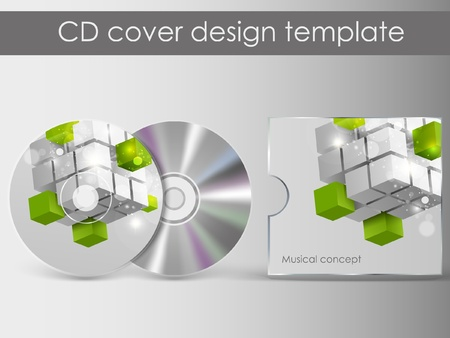 cd cover presentation design