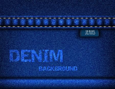 garment label: Jeans background