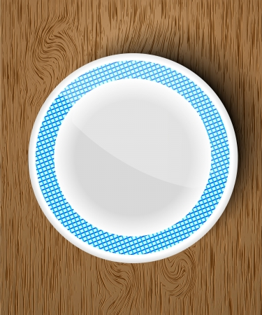 empty bowl: an empty bowl on a wooden table