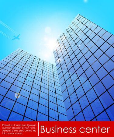 centre d affaires: Illustration vectorielle d'affaires centre de