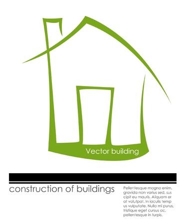 design concept of real estate Vector