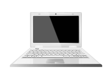 Laptop Computer Vector Illustration Stock Vector - 14536091