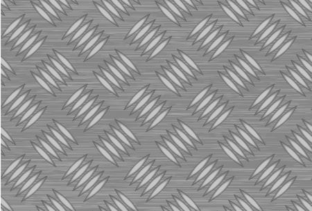Seamless steel diamond plate vector Vector