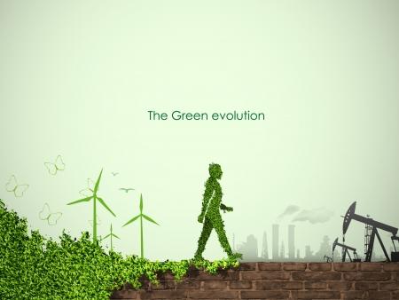evolutie van het concept van vergroening van de wereld