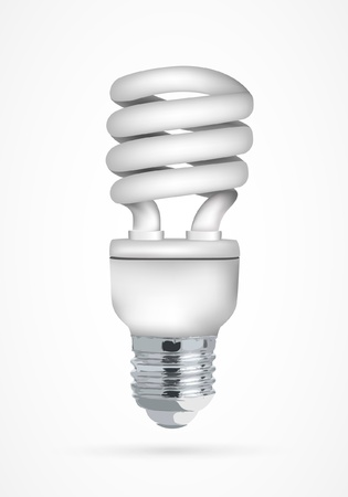 Energy saving light bulb Stock Vector - 15779815