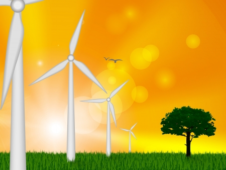 voltaic: The concept of green energy