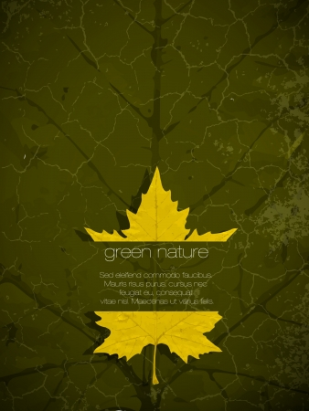 green eco background Stock Vector - 16111195