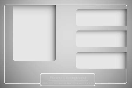 business background with space for your text Stock Vector - 16900384