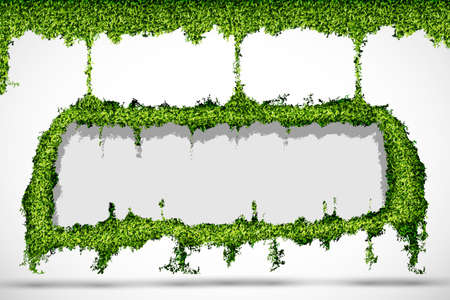 environmental background of the banner of grass Stock Vector - 17535722