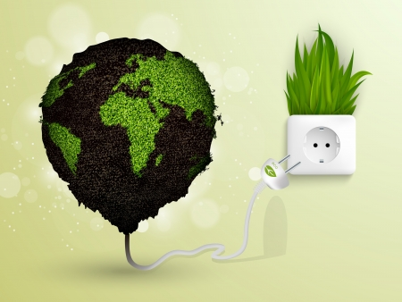 Green energy on Earth