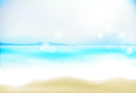 Azure beach Stock Vector - 20008128