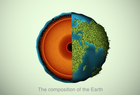 lithosphere: The composition of the Earth