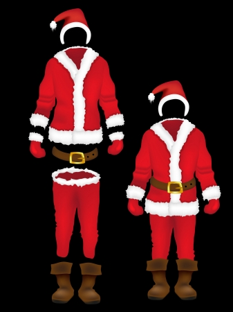 warm clothes: Christmas santa claus clothes