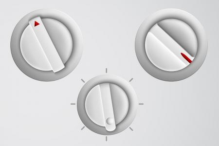 knobs: Vector control button