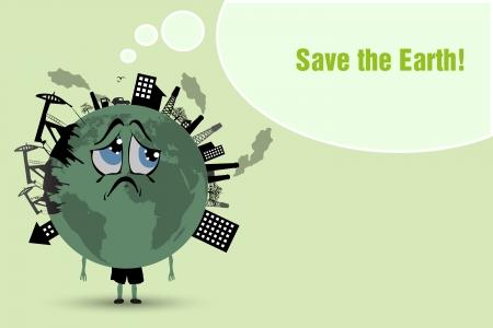 contaminacion ambiental: Conserve la contaminaci�n del medio ambiente la tierra