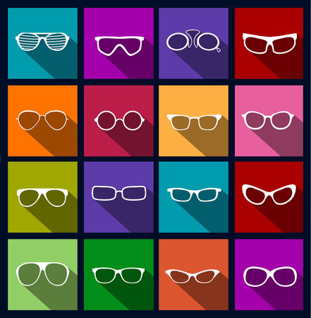 eyewear fashion: colorful icons sunglasses