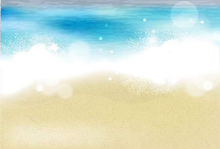 sandy:  sandy beach