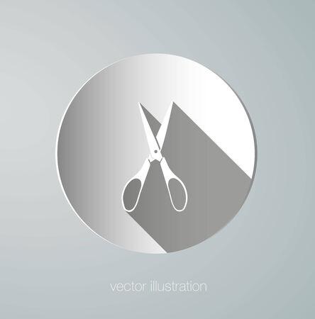 vector icon paper scissors Vector