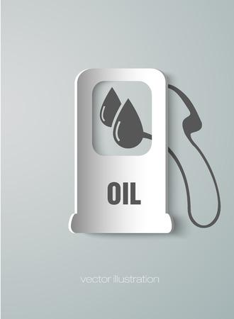 icon fueling pump Vector