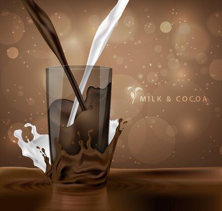 fondo chocolate: