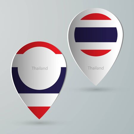 tour guide: paper of map marker for maps and navigators thailand