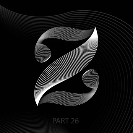 Letter z concept vector illustration Illustration